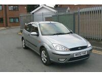 2002 Ford Focus 1.6 Petrol, 3 Door, Leather Seats, 12 Months Mot