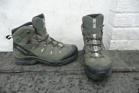 Salamon Quest Prime GTX Walking Boots Men's Size 10