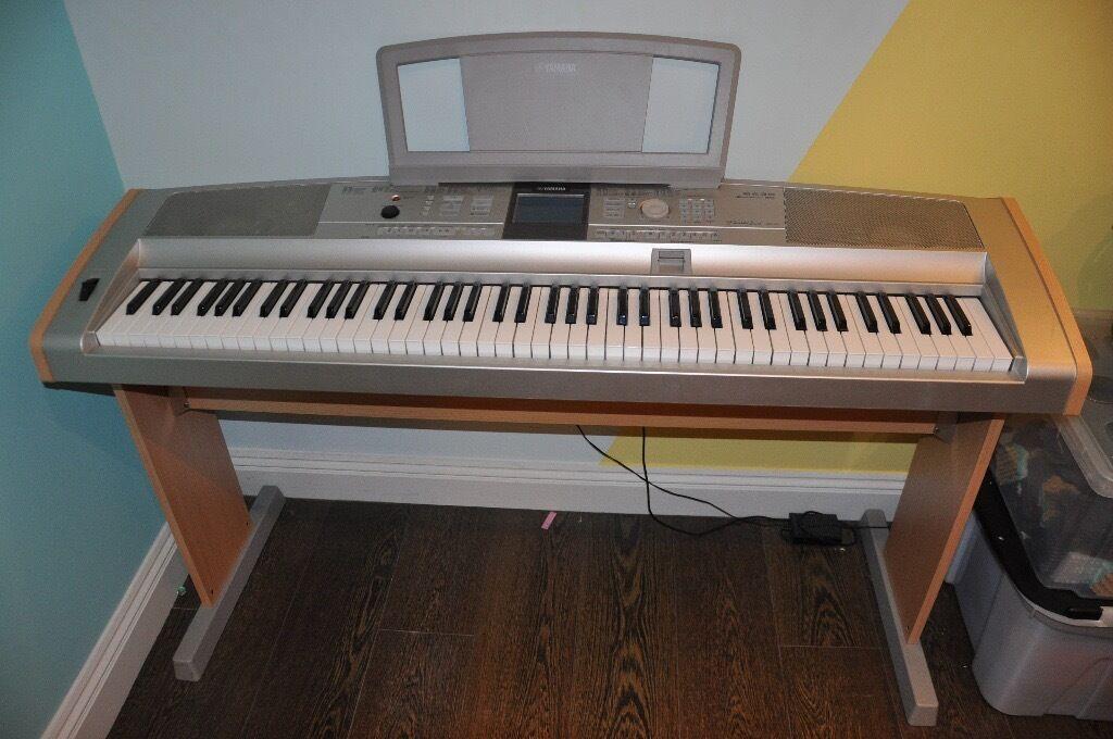yamaha portable grand piano organ dgx 505 in poole dorset gumtree. Black Bedroom Furniture Sets. Home Design Ideas