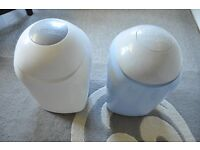 2 Tommy Tippee Sangenic Nappy Bins, Excellent Condition.