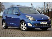 2011 Renault Grand Scenic 2.0 VVT Dynamique Tom Tom CVT+AUTOMATIC+FREE WARRANTY+7 SEATS+1 OWNER