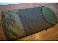 FOX EVO S SLEEPING BAG CAMPING FISHING CARP GEAR