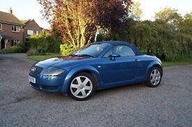 2001 51 Audi TT 1.8T 225 Quattro Convertible, P/ex welcome,
