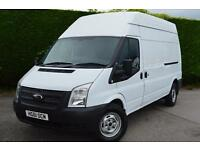 FORD TRANSIT 350 HIGH ROOF 125 PS LWB PERFECT EXAMPLE (white) 2011