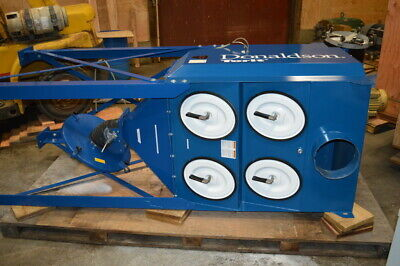 Df02-4 Donaldsontorit Downflo Oval Dust Collector - 28812