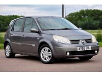 2005 Renault Scenic 1.6 VVT Maxim 5dr+MPV+12 MONTHS MOT+HALF LEATHER+JUST SERVICED+FSH