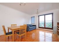 A two double bedroom top floor flat to rent in Kingston. Caversham House.