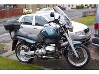 BMW R850R, GREAT CONDITION, LONG MOT