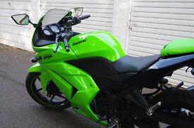 2010 Kawasaki Ninja 250 250r, 11 months MOT, 4800 MILES, FANTASTIC condition
