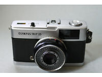 olympus trip 35mm analog point and shoot camera lomo lomography