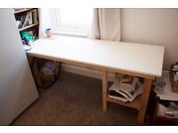 1.8m x 0.7m Wood Desk