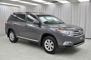 2013 Toyota Highlander FWD 7-PASS SUV w/ A/C, CRUISE, REAR HT-A/