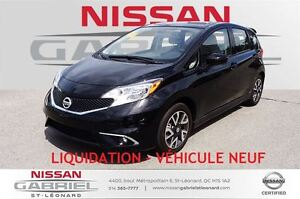2015 Nissan Versa Note 1.6 SR  LIQUIDATION – VÉHICU