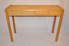 Habitat Radius Oak Console / Hall / Dressing Table / Desk - Free Local Delivery