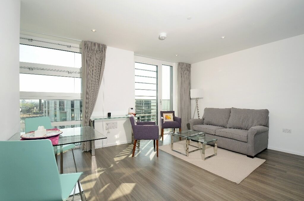 One bedroom Apt, Copperlight Apt, SW18 £1472pcm available from 17th Dec - furnished
