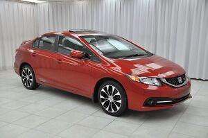 2013 Honda Civic Si i-VTEC 6SPD SEDAN w/ HTD SEATS, NAV, SUNROOF