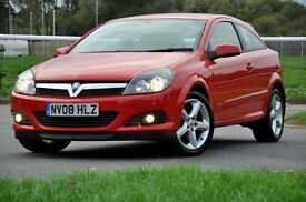 2008 Vauxhall Astra 1.9 CDTi 16v Sport 3dr+DIESEL+FSH+150 BHP+6 SPEEDS+LONG MOT+FREE WARRANTY