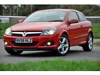 2008 Vauxhall Astra 1.9 CDTi 16v Sport 3dr+DIESEL+FSH+150 BHP+6 SPEEDS+LONG MOT+FREE WARRANTY
