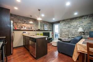 EXPOSED BRICK! Completely Renovated-Beautiful-1 Bedroom!
