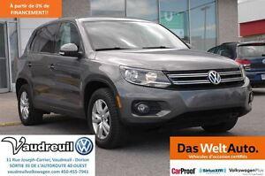 2012 Volkswagen Tiguan TSI Trendline AWD + MAGS + CRUISE