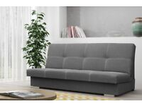 NEW SOFA BED WITH BONELL SPRINGS AND STORAGE