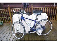 Giant Roam Hybrid (medium) Bicycle, 24 Shimano Gears,100mm Suspension Travel,New Gel Saddle