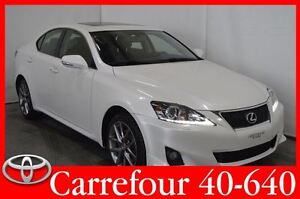 2013 Lexus IS 250 AWD Jupes+Cuir 2Tons+Toit Ouvrant