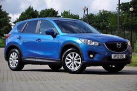 2012 Mazda CX-5 2.2 TD SE-L 2WD 5 DOORS+MPV+DIESEL+1 FORMER KEEPER+SAT NAVIGATION