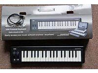 Korg microKey-37 USB MIDI Controller, as new