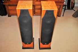 Monitor Audio 8i floor standing speakers.