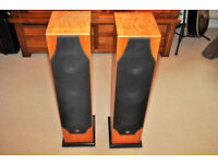 Monitor Audio 8i floor standing speakers.