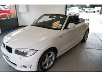 BMW 1 Series 118i Sport (white) 2011