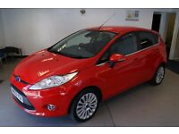 Ford Fiesta Titanium 5dr (red) 2009