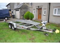 Car transporter twin axle (Wessex) for sale