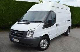 FORD TRANSIT 350 H/R VAN LWB FIBRE-GLASSED PERFECT WORK VAN (white) 2011
