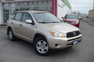 2007 Toyota RAV4 4WD  CERTIFIED & E-TESTED