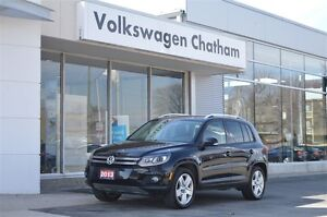 2013 Volkswagen Tiguan 2.0 TSI Comfortline Heated Leather