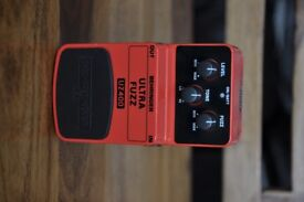 Behringer Ultra Fuzz UZ400 Hi-Gain Overdrive Guitar Effects Pedal