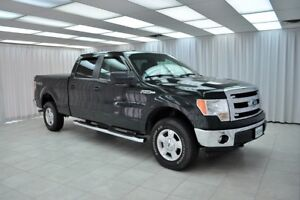 "2014 Ford F-150 """"ONE OWNER"""" ONLY 49K XLT 5.0L 4x4 4DR 6PASS CR"