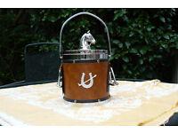 Ice bucket, Horse themed, plastic ice bucket. Located in Harefield.