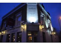 The Vanbrugh is looking for an experience head chef.
