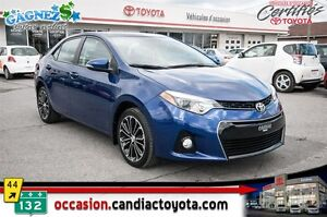 2014 Toyota Corolla S * AUTO * AC * CUIR * TOIT * MAGS *