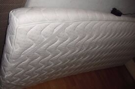 WHITE SINGLE MATTRESS WITH MASSAGE FACILITY WITH REMOTE CONTROL