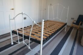 For sale, single bed frame in excellent condition.