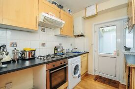 Hillcourt Road - A ground floor three bedroom flat with semi-open plan kitchen and reception.