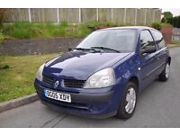 RENAULT CLIO 3 DOOR HATCHBACK 1.2 PETROL *LONG MOT*