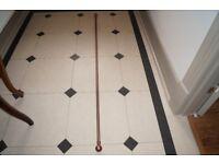 *** Extendable 19mm Copper Curtain Pole ***