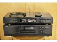 Denon CD Player and Denon FM Tuner
