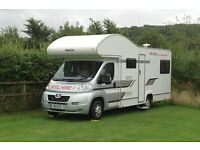 6 Berth Motor home/ Camper Van Hire- From £250 Cambridge UK - WFL Hire 01954 782 812