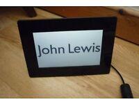 John Lewis Digital Photo Frame